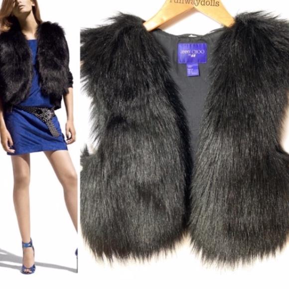 Jimmy Choo for H&M - Faux Fur Vest